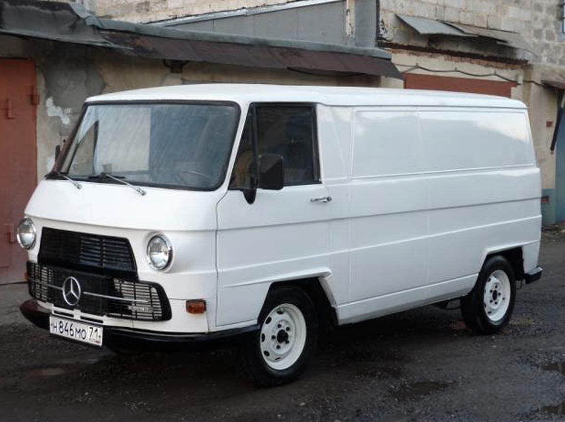 furgonetas Mercedes antiguas MB N1000