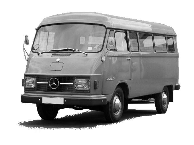 furgonetas Mercedes antiguas Harburger transporter