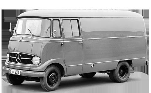 furgonetas Mercedes antiguas L319