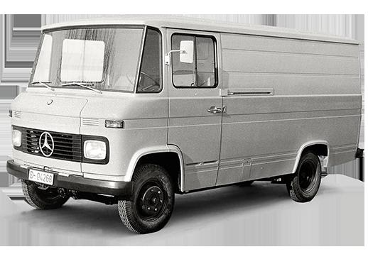 furgonetas Mercedes antiguas T2 primera generación