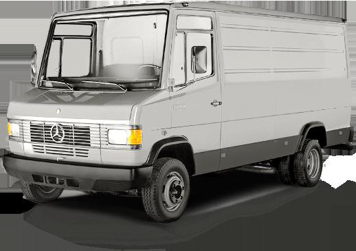 furgonetas Mercedes antiguas T2 segunda generación