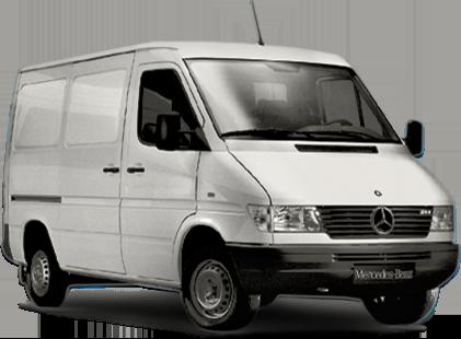 furgonetas Mercedes antiguas Sprinter de primera generación
