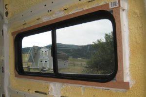 marco ventanas para furgoneta camper